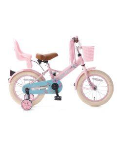 Popal Little Miss Meisjesfiets 14 inch - Roze