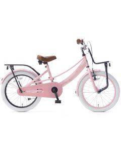 Popal Lola Meisjesfiets 18 inch - Roze Zwart