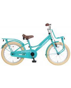 Popal Cooper Meisjesfiets 18 inch - Turquoise