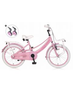 Popal Meisjesfiets Lola 18 inch - Roze