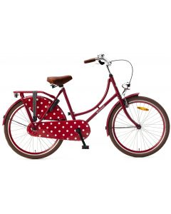 Popal Omafiets 24 inch - Rood