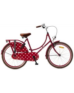 Popal Omafiets 24 inch N3 - Rood