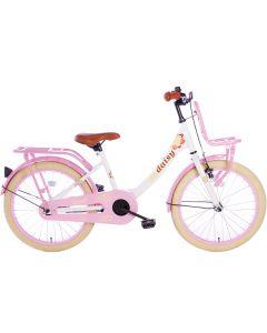 Spirit Daisy Meisjesfiets 20 inch - Wit/Roze