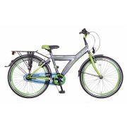 Jongensfiets 24 inch groen/grijs