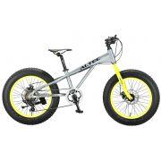 Fat Bike Allround 20 inch 2D Grijs Groen