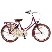 Popal Omafiets 22 inch - Rood