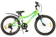 Volare Blade Kinderfiets - Jongens - 20 inch - Groen - 95% afgemonteerd - Shimano 6 versnellingen