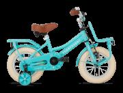 SuperSuper Cooper Meisjesfiets 12 inch - Turquoise