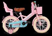 SuperSuper Little Miss Meisjesfiets 14 inch - Roze main