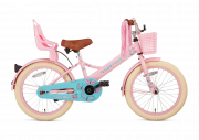 SuperSuper Little Miss Meisjesfiets 18 inch - Roze