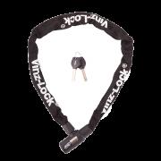 Vinz Fietsslot 90cm - Zwart