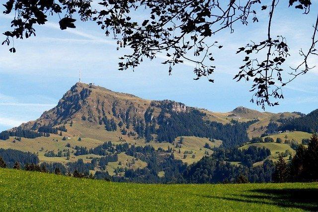 Fietsroute langs de Kitzbueheler Alpen