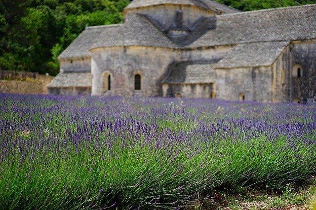 Fietsroute langs Provence Vaucluse