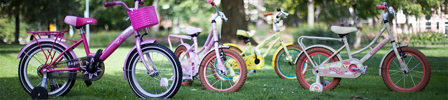Kinderfietsen-categoriebanner