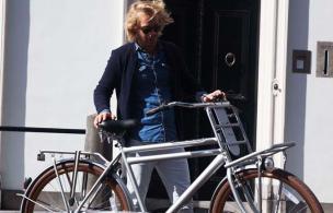 Lange afstand fietsen met herenfiets