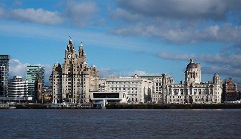 Liverpool op de fiets