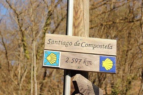 Richting Santiago de Compostela: de St. Jacobs fietsroute