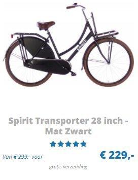 Spirit transporter fiets