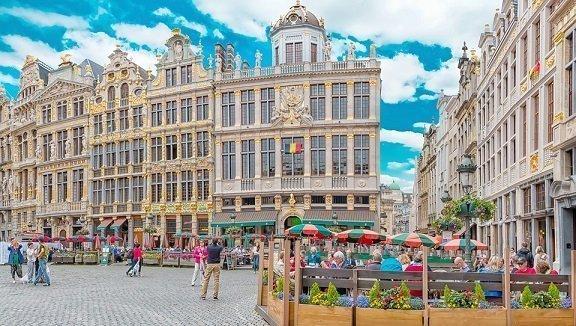 fietsroutes in Brussel