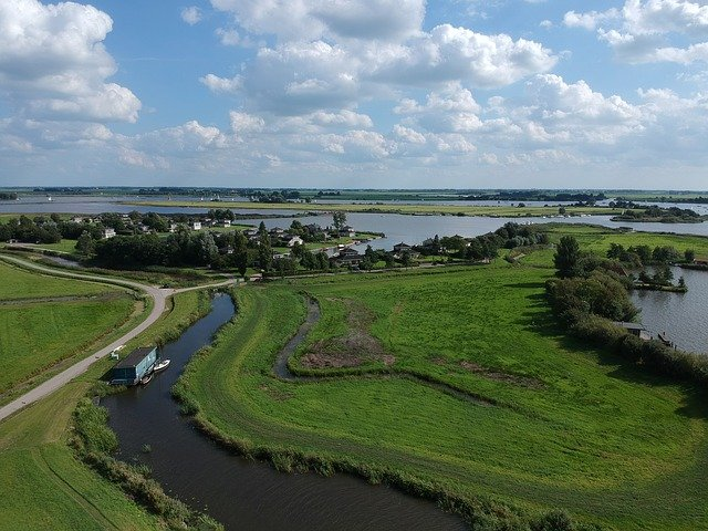 knooppuntroute de Friese Meren route